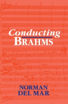 Image for Conducting Brahms