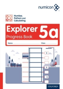 Image for Numicon: Number, Pattern and Calculating 5 Explorer Progress Book A (Pack of 30)