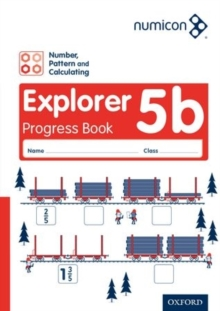 Image for Numicon: Number, Pattern and Calculating 5 Explorer Progress Book B (Pack of 30)