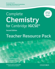 Image for Complete chemistry for Cambridge IGCSE: Teacher resource pack