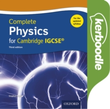 Image for Complete Physics for Cambridge IGCSE (R) Kerboodle: Online Practice and Assessment