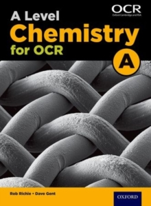A level chemistry A for OCRStudent book - Ritchie, Rob