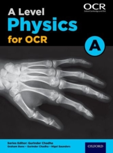 Image for A level physics A for OCR: Student book