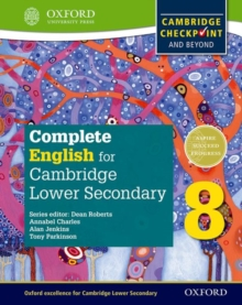Image for Complete English for Cambridge Secondary 1Student book 8