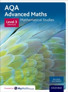 Image for AQA mathematical studiesLevel 3 certificate,: Student book