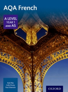 Image for AQA A level year 1 and AS French: Student book