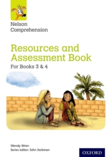 Image for Nelson comprehension: Resources and assessment book for books 3 & 4