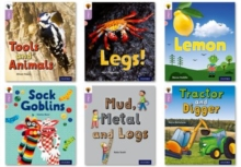 Image for Oxford Reading Tree inFact: Oxford Level 1+: Mixed Pack of 6