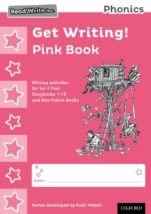 Image for Read Write Inc. Phonics: Get Writing! Pink Book Pack of 10