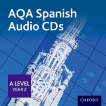 Image for SpanishAQA A level Year 2,: Audio CD pack