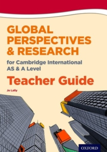 Image for Global perspectives for Cambridge International AS & A level: Teacher guide