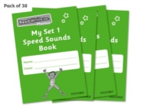 Image for Read Write Inc. Phonics: My Set 1 Speed Sounds Book Pack of 30