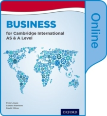 Business for Cambridge International AS & A Level Online Student Book