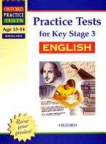 Image for Practice tests for Key Stage 3 English
