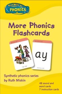 Read Write Inc. Phonics: More Phonics Flashcards - Miskin, Ruth