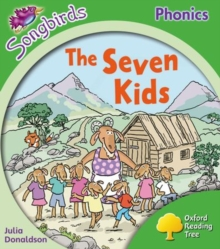 Image for Oxford Reading Tree: Level 2: More Songbirds Phonics : The Seven Kids