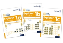 Numicon number, pattern and calculating1,: Explorer progress book - Atkinson, Ruth