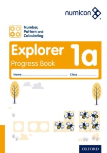 Numicon: Number, Pattern and Calculating 1 Explorer Progress Book A (Pack of 30) - Atkinson, Ruth