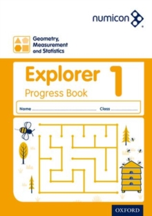Image for Numicon: Geometry, Measurement and Statistics 1 Explorer Progress Book (Pack of 30)