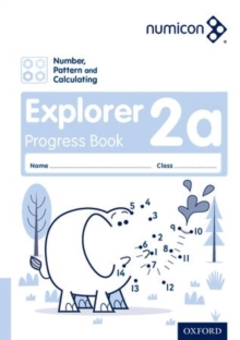 Image for Numicon: Number, Pattern and Calculating 2 Explorer Progress Book A (Pack of 30)