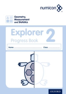 Image for Numicon: Geometry, Measurement and Statistics 2 Explorer Progress Book (Pack of 30)