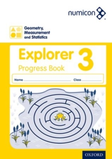 Numicon geometry, measurement and statistics3,: Explorer progress book - Lowndes, Sue