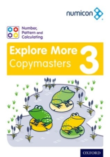 Numicon number, pattern and calculating3,: Explore more copymasters - Willmott, Val