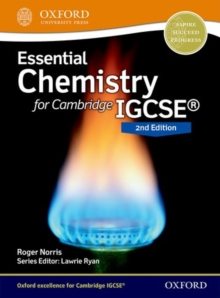 Image for Essential chemistry for Cambridge IGCSE: Student book