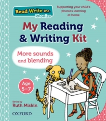 Read Write Inc.: My Reading and Writing Kit : More sounds and blending - Miskin, Ruth