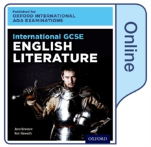 Image for International GCSE English Literature for Oxford International AQA Examinations : Online Textbook