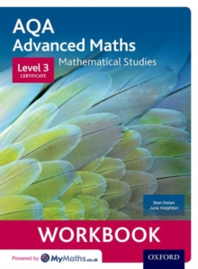 Image for AQA Mathematical Studies Workbook : Level 3 Certificate (Core Maths)