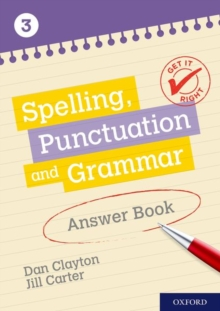 Image for Spelling, punctuation and grammarAnswer book 3