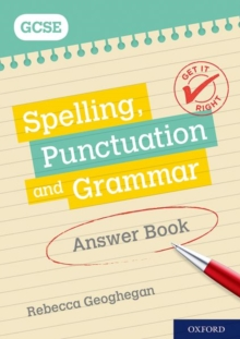 Image for Spelling, punctuation and grammar: Answer book