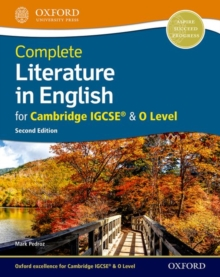 Image for Complete literature in English for Cambridge IGCSE & O level