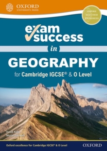 Image for Exam success in geography for Cambridge IGCSE & O level