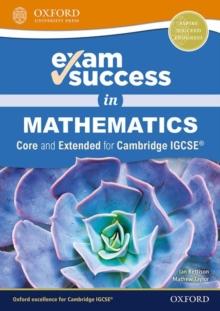 Image for Exam success in mathematics for Cambridge IGCSE
