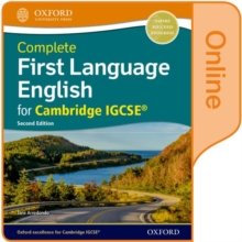Image for Complete first language English for Cambridge IGCSE