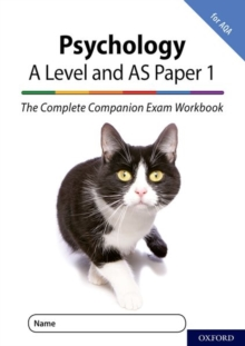 Image for PsychologyA level and AS paper 1,: The complete companion exam workbook