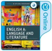 Image for IB English A  : language and literature: Online course book