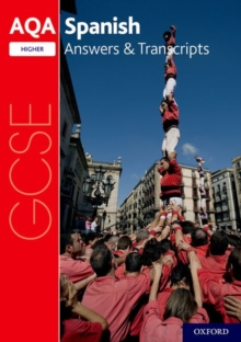 Image for AQA GCSE SpanishHigher,: Answers & transcripts