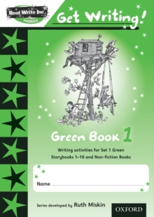 Image for Read Write Inc. Phonics: Get Writing!: Green 1