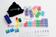 Numicon: Homework Activities Intervention Resource - 'Maths Bag' of resources per pupil -