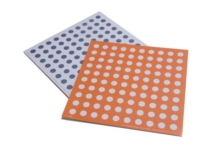 Numicon: Double-sided Baseboard Laminates (pack of 3) -