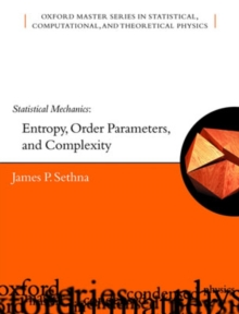 Image for Statistical mechanics  : entropy, order parameters, and complexity