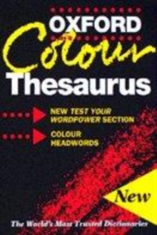 Image for The Oxford colour thesaurus