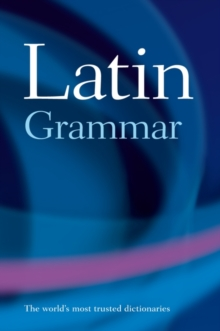 Image for A Latin grammar