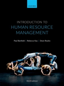 Image for Introduction to human resource management