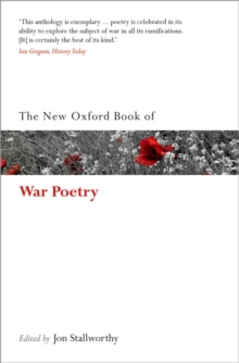 Image for The new Oxford book of war poetry