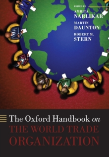 Image for The Oxford handbook on the World Trade Organization