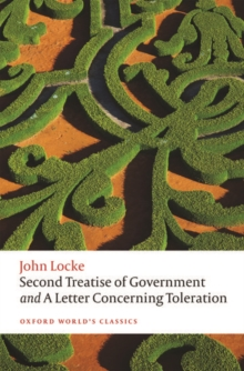 Image for Second treatise of government and A letter concerning toleration